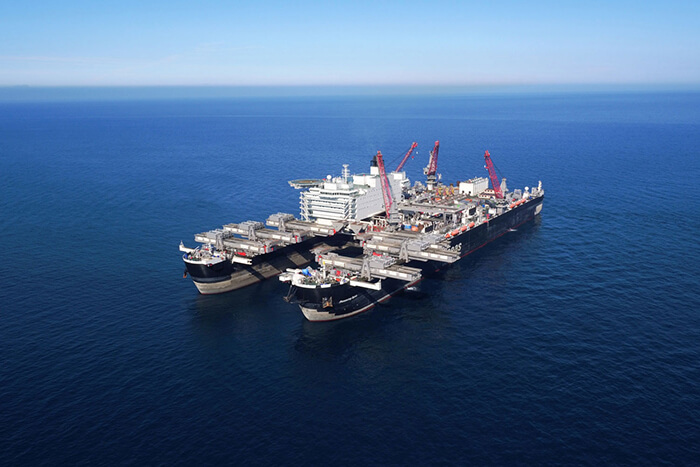 Construction contract signed for the first line of the TurkStream